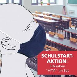 Gesichtsmaske VITA mit Filtervlies