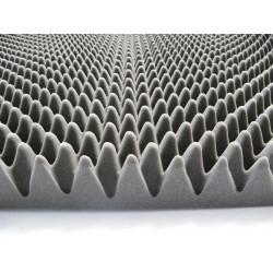 Pyramidal foam