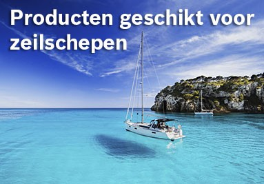 Producten geschikt voor zeil schepen