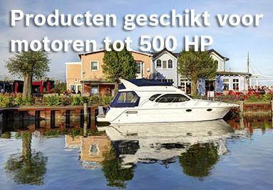 Producten geschikt voor motoren tot 500 HP